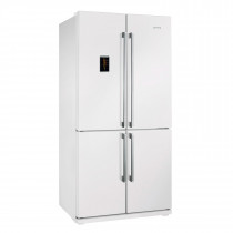 Smeg FQ60BPE White 615 Litre A+ Rated Fridge Freezer