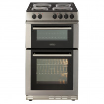 Belling Stainless Steel 50cm Electric Fanned Double Oven Range Cookers FS50EFDOSTA