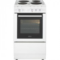 Belling Freestanding White 50cm Electric Cooker Single Oven FS50ESWHI