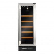 CDA 300mm Freestanding Under Counter Stainless Steel Wine Cooler