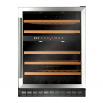 CDA 600mm Freestanding Under Counter Stainless Steel Wine Cooler