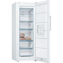 Bosch Serie 4 GSN29VWEVG Freestanding White Upright Freezer