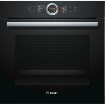 Bosch Serie 8 HBG656RB6B Black Built-in Oven