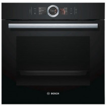 Bosch HBG674BB1B Built-in Black Pyrolytic Single Oven
