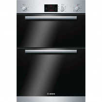 Bosch Serie 6 HBM13B151B Brushed Steel Built-in Double Oven