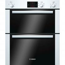 Bosch Serie 6 HBN13B221B White Built-under Double Oven