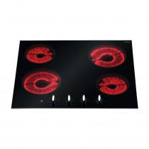CDA Front Control 60cm Four Zone Black Ceramic Hob HC6310FR