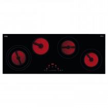 CDA Touch Control 90cm Four Zone Ceramic Linear Hob HC9621FR