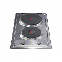 CDA Domino Two Plate Electric Hob HCE340SS