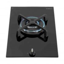 CDA Domino Single Burner Gas on Black Glass Hob HG3601FR