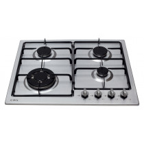 CDA 60cm 4 Burners Stainless Steel Gas Hob HG6250SS