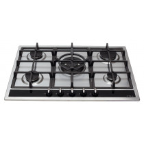 CDA Five Burner Stainless Steel Gas Hob HG7350SS