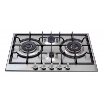 CDA Four Stainless Steel Gas Hob HG7500SS