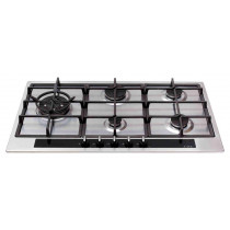 CDA Five Burner Stainless Steel Gas Hob HG9350SS