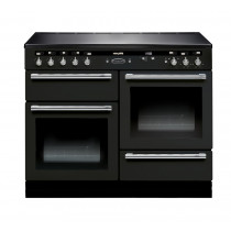 Rangemaster Hi-Lite Induction 110 Black Range Cooker 10448