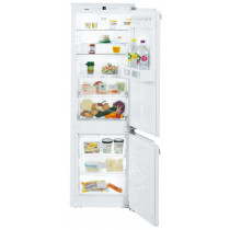 Liebherr ICBN3324 Built-In Comfort BioFresh White Fridge Freezer