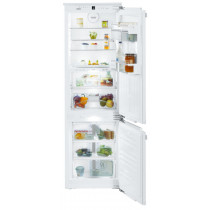 Liebherr ICBN3376 Built-In Premium BioFresh White Fridge Freezer