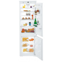 Liebherr ICNS3324 Built-In Comfort NoFrost White Fridge Freezer