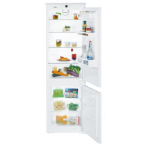 Liebherr ICUS3324 Built-In Comfort SmartFrost White Fridge Freezer