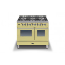 Ilve Roma 100 Twin Dual Fuel Cream Range Cooker (4 burner and fry top)