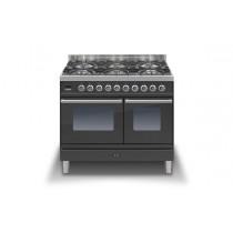 Ilve Roma 100 Twin Dual Fuel Graphite Range Cooker