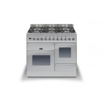 Ilve Roma 100 XG Dual Fuel Stainless Steel Range Cooker (4 burner and Coup-de-feu)