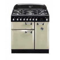 Rangemaster Elan 90 Dual Fuel Cream Range Cooker 72920