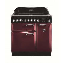 Rangemaster Elan 90 Induction Cranberry Range Cooker 101180