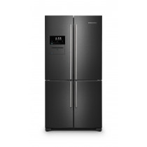 Rangemaster SXS Deluxe 556 Litre A+ Rated Dark Inox Fridge Freezer RSXS19DI/C