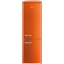 gorenje ORK193O 188.7cm Retro Freestanding Juicy Orange Fridge Freezer