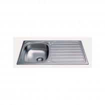 CDA Stainless Steel Compact Single Bowl Sink - KA20SS