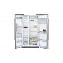 Neff KA3902I20G Stainless Steel American Style Fridge Freezer