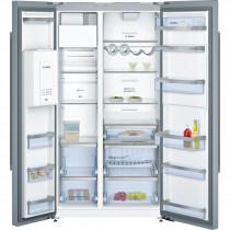 Bosch Serie 6 American-Style Stainless Steel Fridge Freezer KAD92AI30