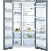 Bosch Serie 6 American-Style Stainless Steel Fridge Freezer KAN92VI35