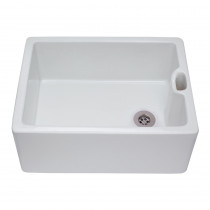 CDA Ceramic Belfast White Sink KC10WH