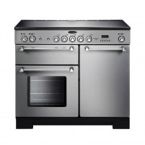 Rangemaster Kitchener 100 Ceramic Stainless Steel Range Cooker