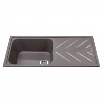 CDA Composite Single Bowl Sink KG81GR