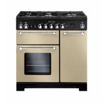 Rangemaster Kitchener 90 Natural Gas Cream Range Cooker KCH90NGFCR/C 116760