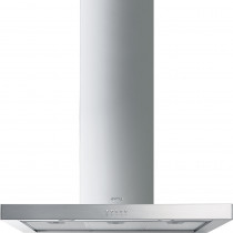 Smeg KS90XE-2 90 Stainless Steel Chimney Hood