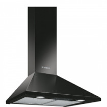 Smeg 60cm Black Chimney Hood KSED65NEE