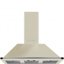 Smeg Victoria KT100PE 100 Cream Chimney Hood