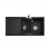 Rangemaster Lunar LU9852GB Black Granite Sink