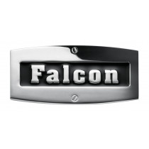 Falcon 900 Utensil Rack Stainless Steel with Brass Trim