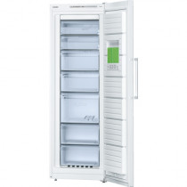 Bosch Serie 4 GSN33VW30G No Frost Freestanding White Upright Freezer