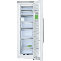 Bosch Serie 6 GSN36AW31G No Frost Freestanding White Upright Freezer