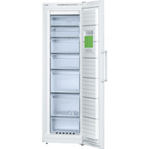 Bosch Serie 4 GSN36VW30G No Frost Freestanding White Upright Freezer