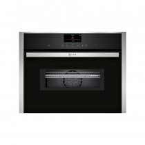 Neff N90 Pyrolytic Compact 45cm Oven with Microwave C27MS22H0B