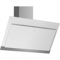 Bosch Serie 4 DWK97HM20 90 Inclined Glass White Chimney Hood