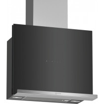 Neff 60cm Black Flat Slimline Chimney Hood D65FRM1S0B