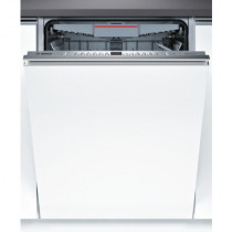 Bosch Serie 4 60cm Extra-Height Brushed Steel Fully Integrated Dishwasher SBE46MX00G